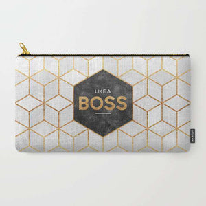 Like A Boss - Zipper Pouch