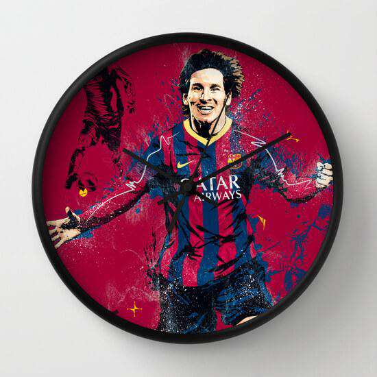 Lionel Messi - Wall Clock