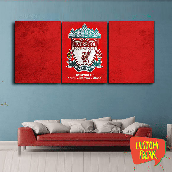 Liverpool Ynwa - Set Of 3 - Wall Hangings