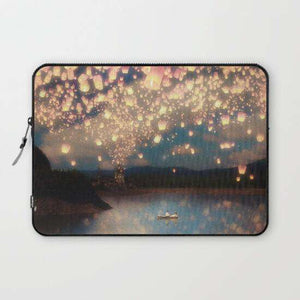 Laptop & Tablet Sleeve Love Wish Latern