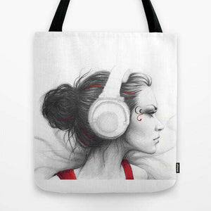 Music Girl - Tote Bag