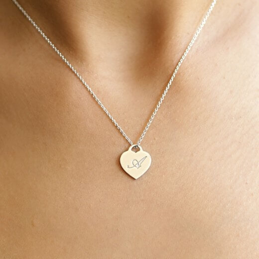 Heart Engrave - Necklace