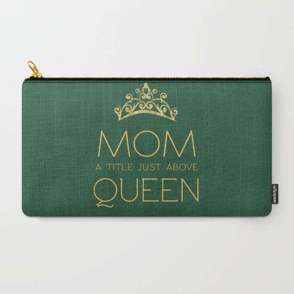 Mom Queen - Zipper Pouch