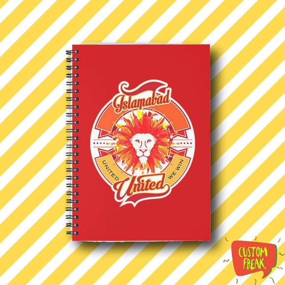 Islamabad United Psl - Notebook