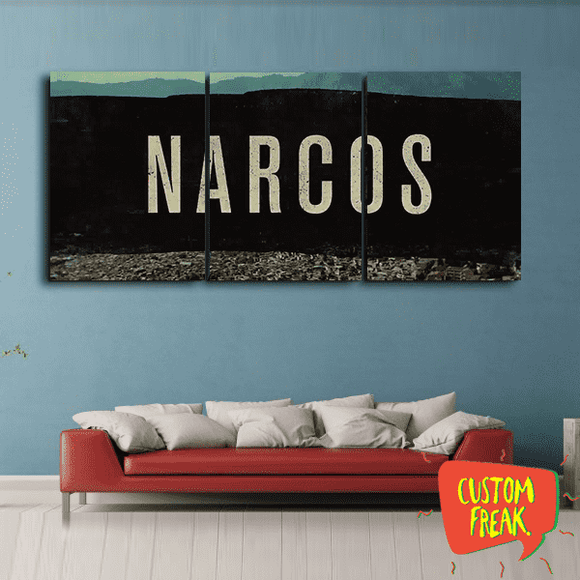 Narcos - Set Of 3 - Wall Hangings