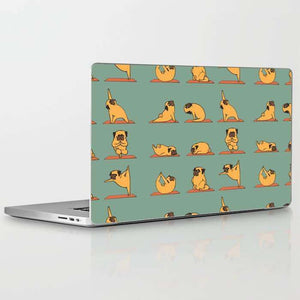 Laptop Skin Pup Yoga