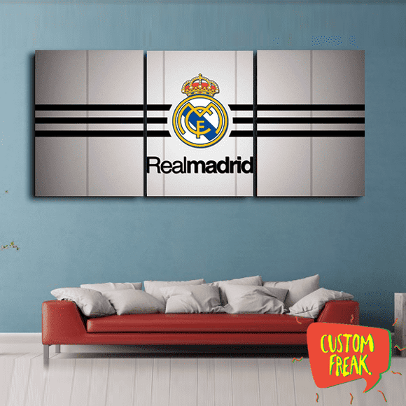 Real Madrid - Set Of 3 - Wall Hangings