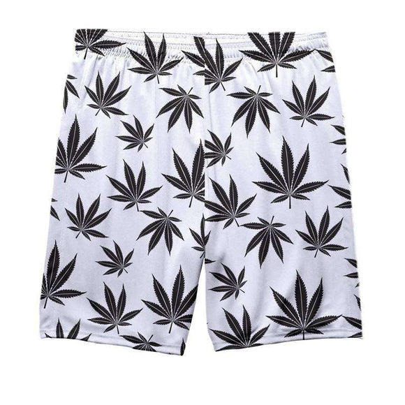 Pattern Weed - All Over Printed Shorts