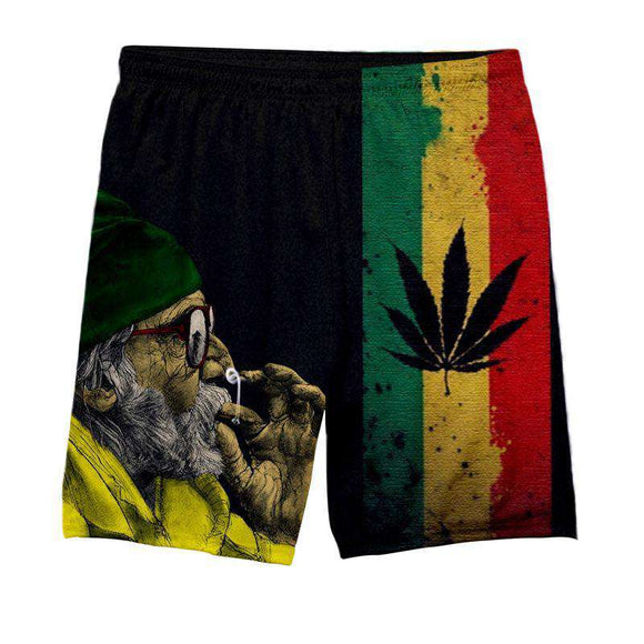 SALE - Jamaica Weed - All Over Printed Shorts