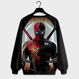 Spiderman - Digital Printed Sweat Shirt