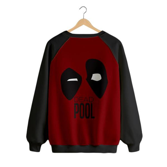 Deadpool - Digital Printed Sweat Shirt