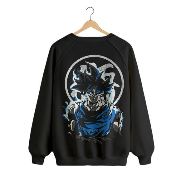 Goku - Digital Printed Sweat Shirt