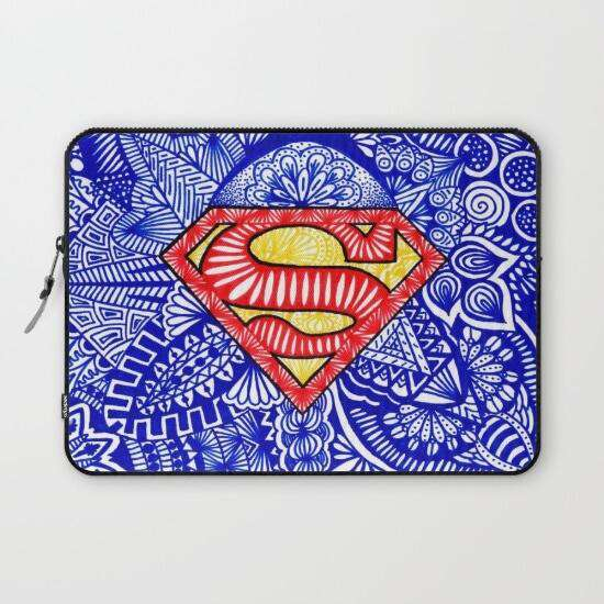 Laptop & Tablet Sleeve Superman