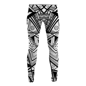 9ceeebcce3867 Black and White Patterns - Leggings