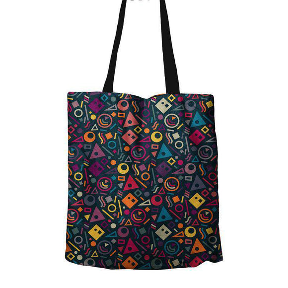 Block Pattern - Tote Bag