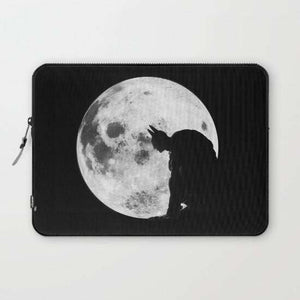 Laptop And Tablet Sleeves The Bat In The Pale Moonlight