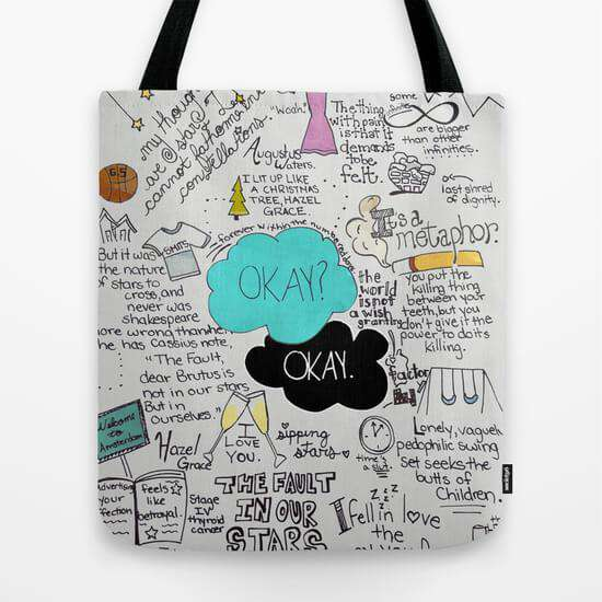 The Fault In Our Stars- John Green - Tote Bag
