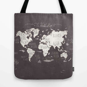 The World Map - Tote Bag
