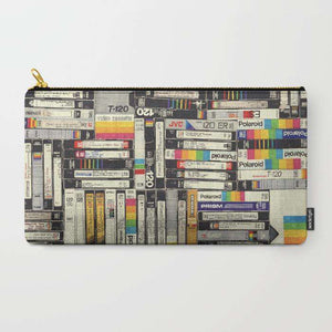 Old Cassettes - Zipper Pouch