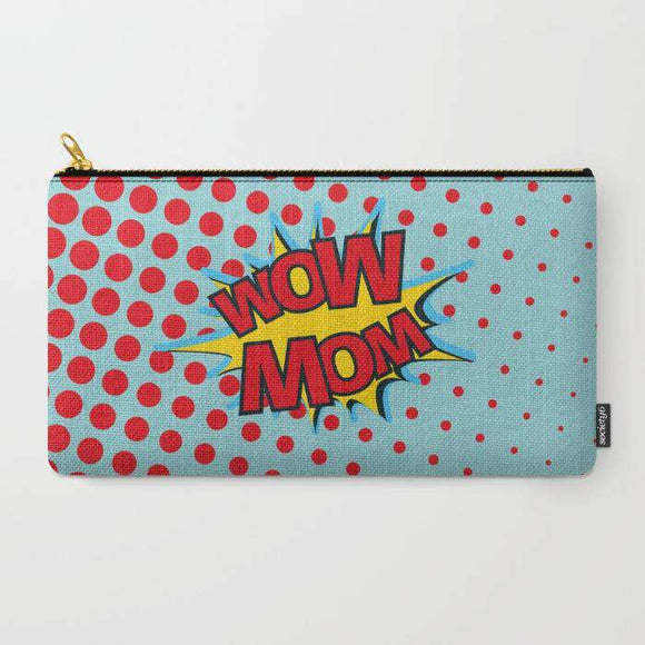 Wow Mom - Zipper Pouch