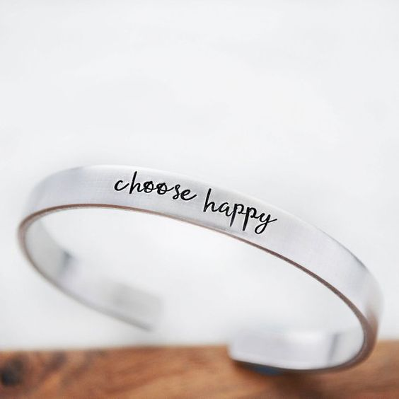Choose Happy - Bracelet