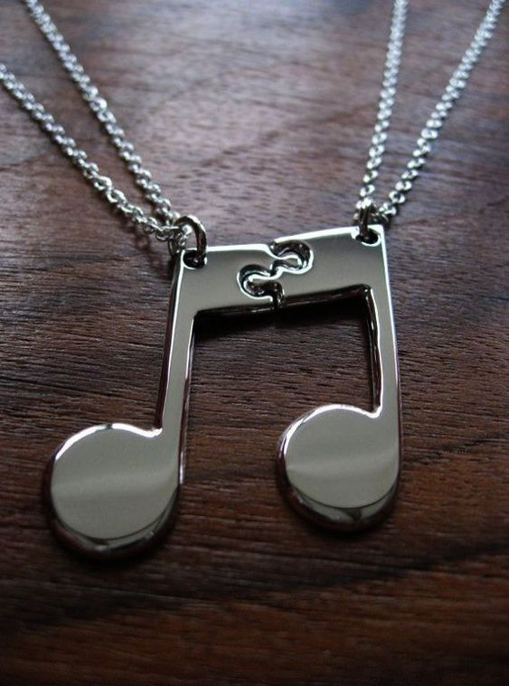 Couple Music - Necklace