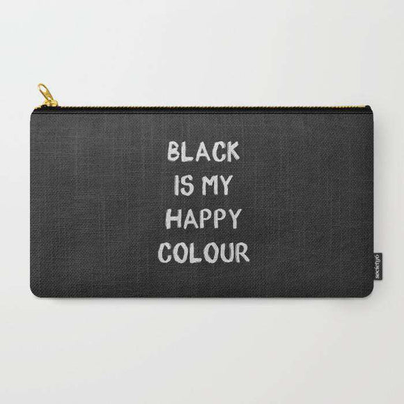 Black Is My Color - Zipper Pouch