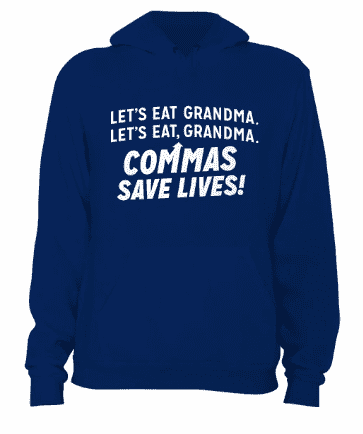 Comma Save Lives - Hoodie