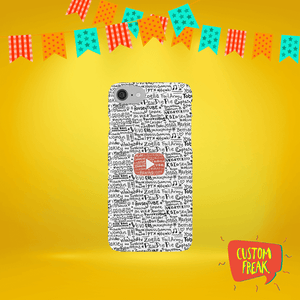 Youtube Printed Cell Cover