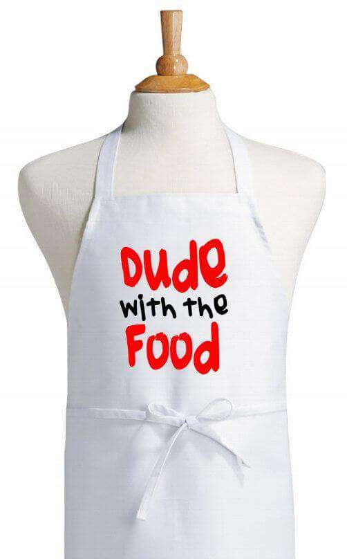 Dude With The Food - Aprons