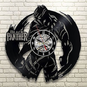 Black Panther - Acrylic Clock