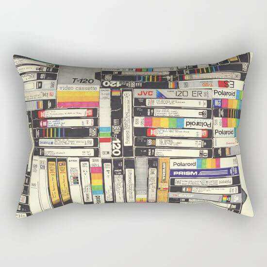 Vhs Pillow Cover