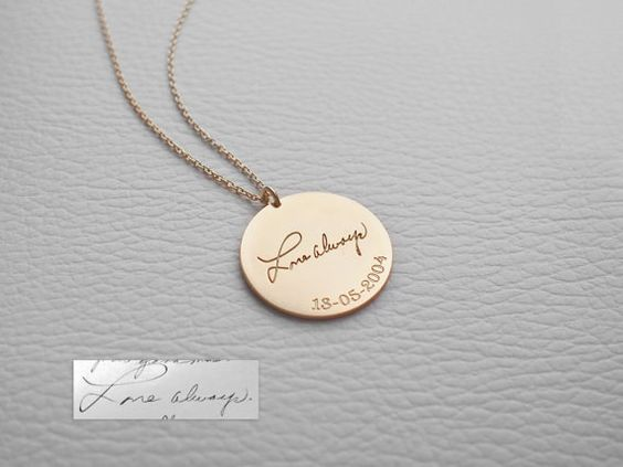 Engrave Name - Necklace