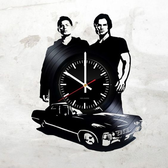 Supernatural - Acrylic Clock