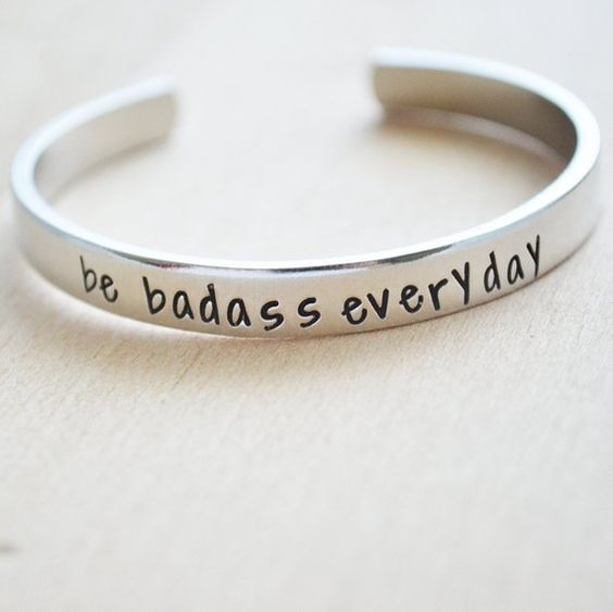 Be Badass Everyday - Bracelet