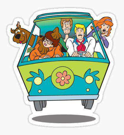Scoopy Doo - Cutout Sticker