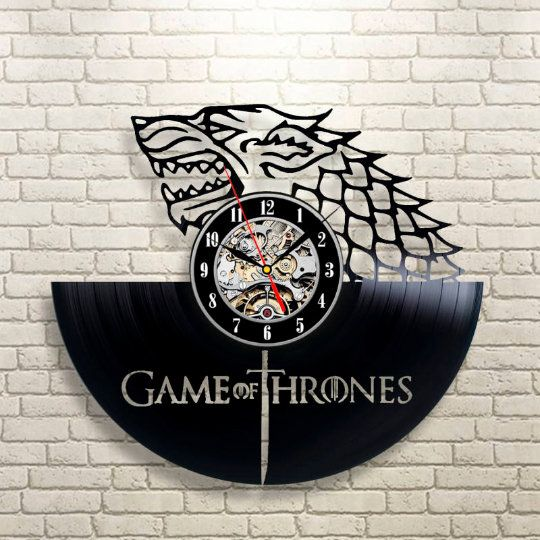 Game Of Thrones - Acrylic Clock