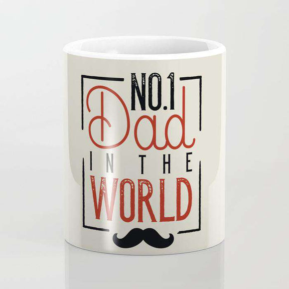 No 1 Dad - Fathers Day - Mug