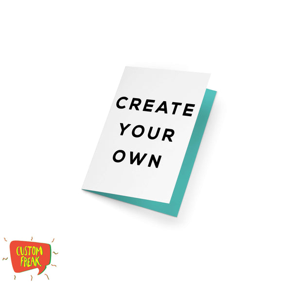 create your greeting card - Create Your Own Greeting Card