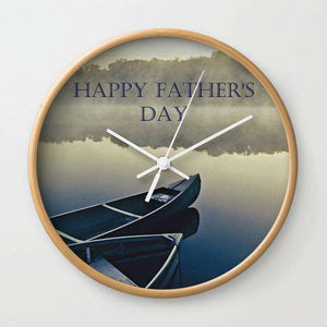 Happy Fathers Day - Wall Clock