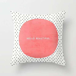Hello Beautiful Cushion