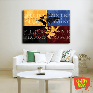 Houses Of Got - Wall Hangings