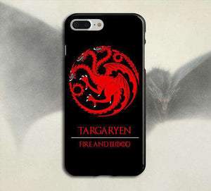 Targaryen Game Of Thrones Printed Cell Cover
