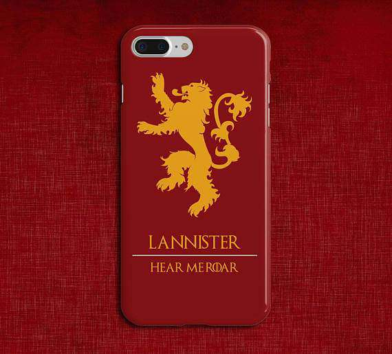 Lannister Game Of Thrones Printed Cell Cover - Cell Cover