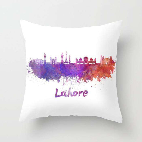 Lahore - Independence Day Merchandise - Cushion - Custom Freaks