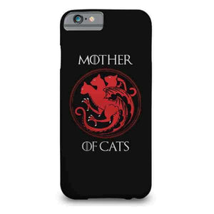 Mother Of Cats Printed Cell Cover - Cell Cover