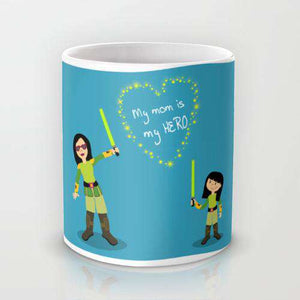 My Mom Is My Hero - Mug