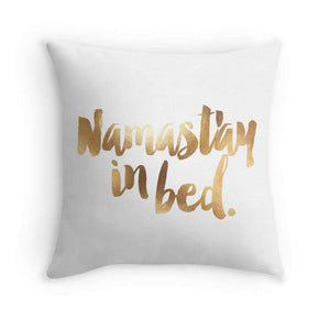 Namastay In Bed Cushion