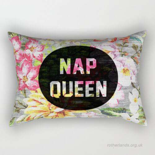 Nap Queen Pillow Cover
