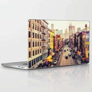 Laptop Skin New York Summer Street